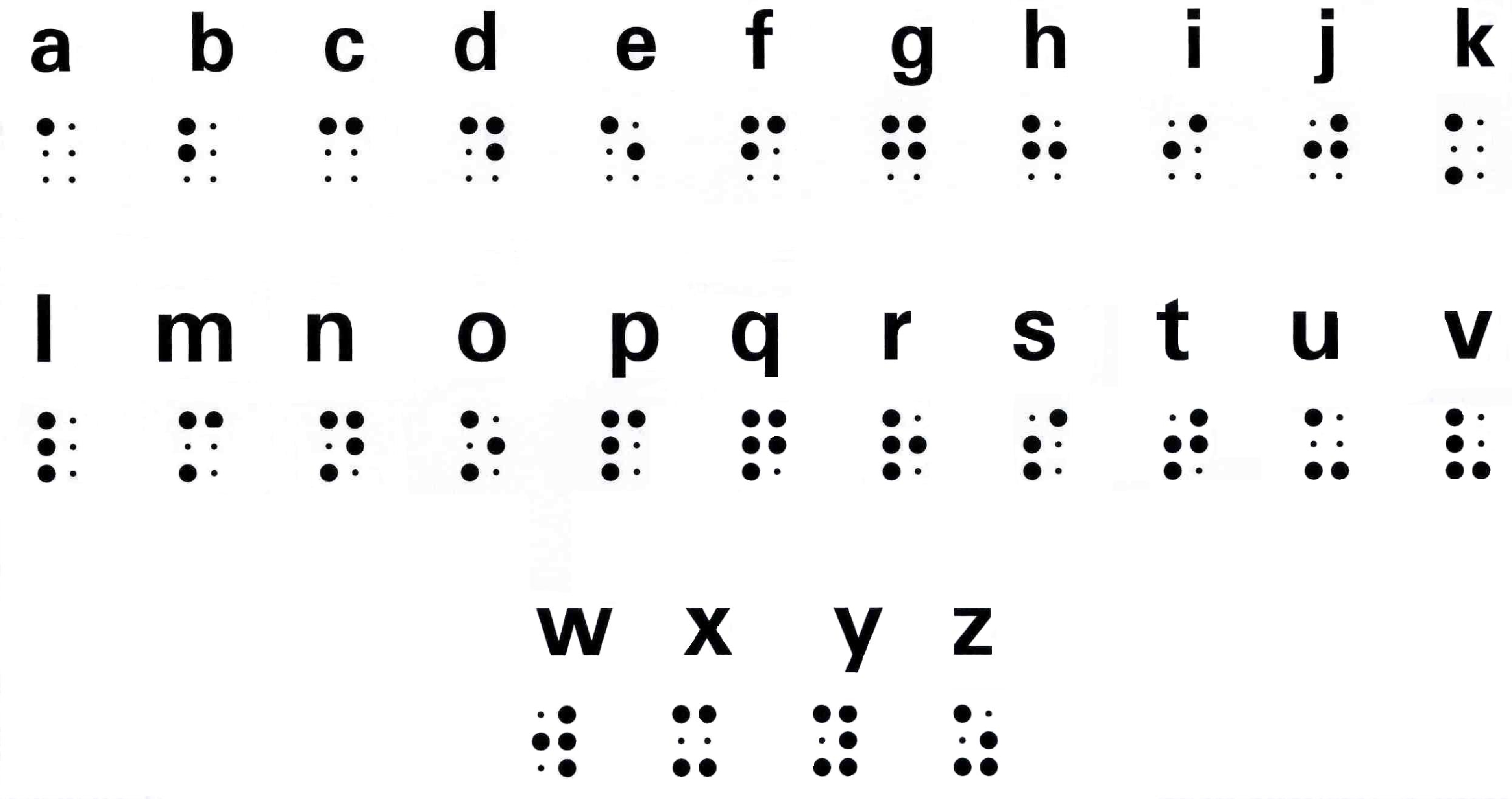 Braille image